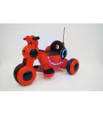 Электромобиль Мотоцикл HL красный