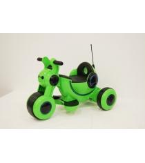Электромобиль Мотоцикл зеленый