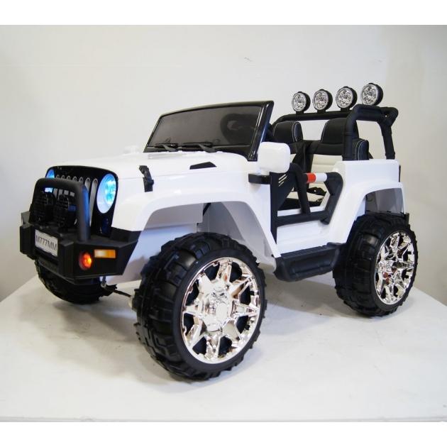 Электромобиль Jeep 4*4 белый