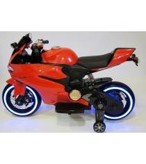Электромобиль Мотоцикл красный