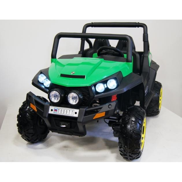 Электромобиль Buggy 4*4 зеленый
