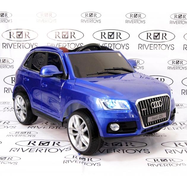 Электромобиль AUDI Q5 синий глянец