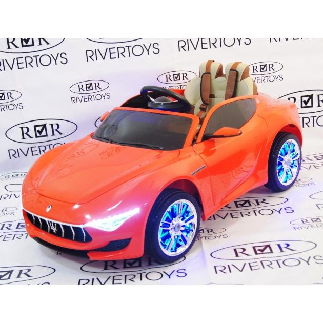 Электромобиль Maserati красный