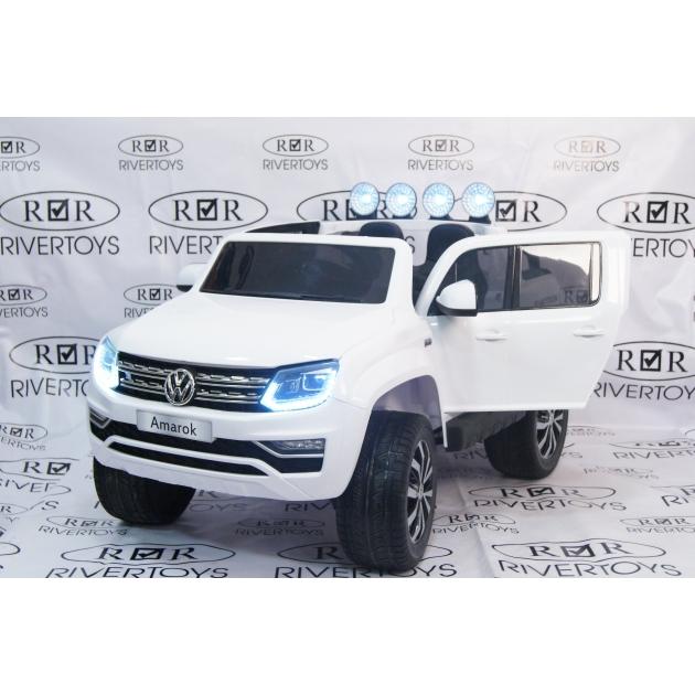 Электромобиль Volkswagen Amarok белый