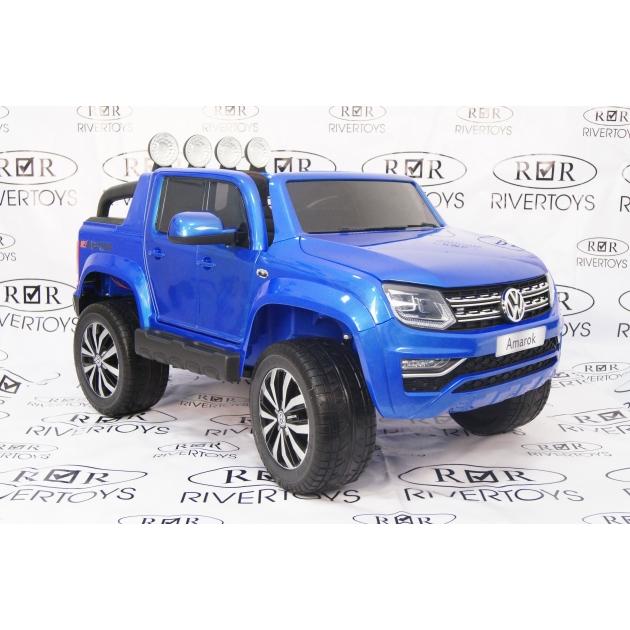 Электромобиль Volkswagen Amarok синий