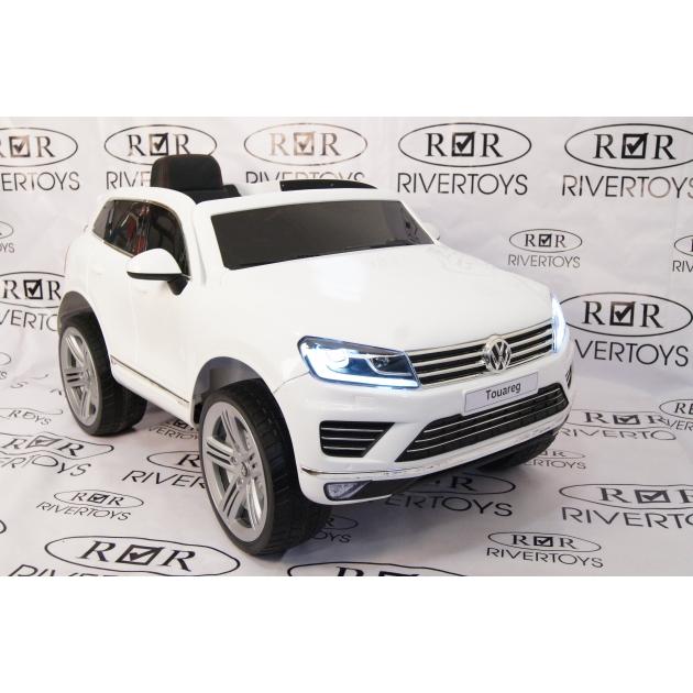 Электромобиль Volkswagen Touareg белый
