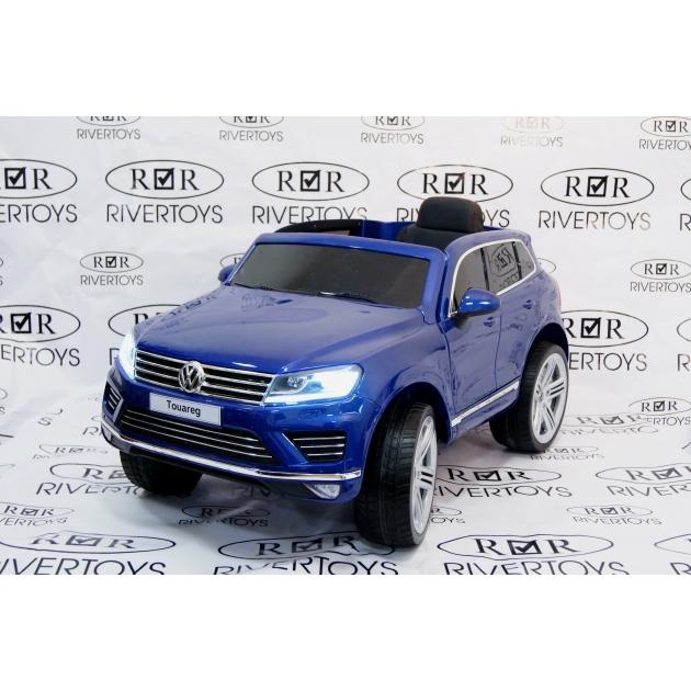 Электромобиль Volkswagen Touareg синий глянец