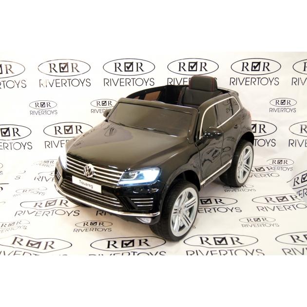 Электромобиль Volkswagen Touareg черный