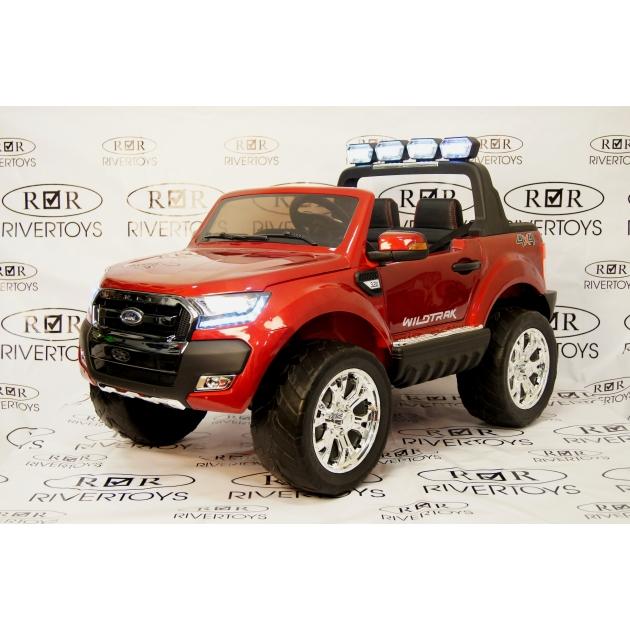 Электромобиль New Ford Ranger 4WD вишневый
