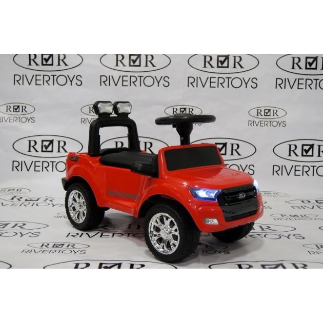 Толокар Ford Ranger красный