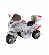 Электромобиль Moto белый