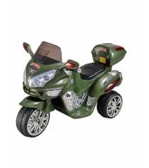 Электромобиль Moto зеленый