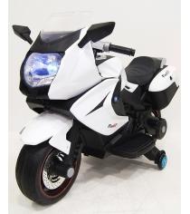 Электромобиль Superbike Moto белый