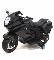 Электромобиль Superbike Moto черный