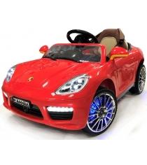Электромобиль Porsche Panamera красный