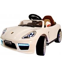 Электромобиль Porsche Panamera белый