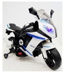 Электромобиль Moto M1 белый
