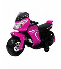 Электромобиль мотоцикл Мото розовый