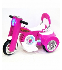 Электромобиль Moto розовый