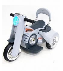 Электромобиль Moto серый