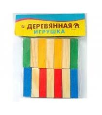 Деревянная игрушка набор плашек брусков 14 эл Рыжий кот НР-0149-no