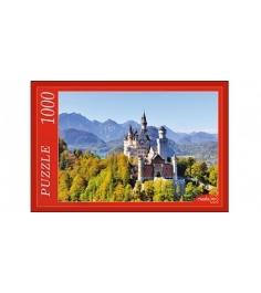 Пазлы замок нойшванштайн 1000 элементов Рыжий кот кб1000-6868...