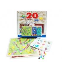 Игры для всей семьи 20 прикольных игр в 1 Рыжий кот ИН-8516