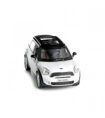 Инерционная коллекционная машинка mini cooper countryman s черно белая 1:32 Rmz City 554001