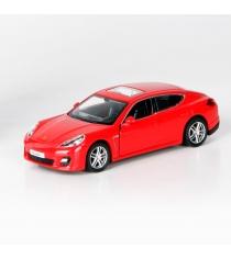 Инерционная коллекционная машинка porsche panamera turbo красная 1:32 Rmz City 554002