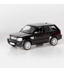 Инерционная коллекционная машинка range rover sport глянцево черная 1:32 Rmz City 554007