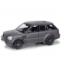 Инерционная коллекционная машинка range rover sport матово черная 1:32 Rmz City 554007M