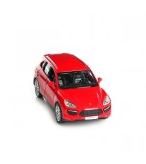 Инерционная коллекционная машинка porsche cayenne turbo красная 1:32 Rmz City 554014