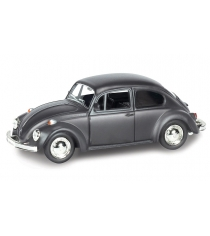 Инерционная коллекционная машинка volkswagen beetle 1967 черная 1:32 Rmz City 554017M