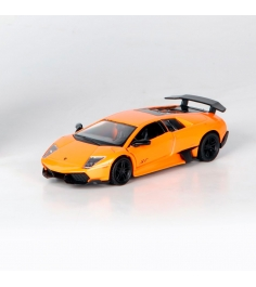 Инерционная коллекционная машинка lamborghini murcielago оранжевая 1:32 Rmz City...