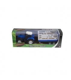 Трактор с прицепом синий Roadsterz blue_treiler/ast1372300