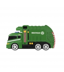 Машинка Roadsterz мусоровоз со светом и звуком 1416391