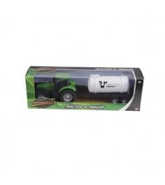 Трактор с бочкой Roadsterz зеленый green_bochka/ast1372300