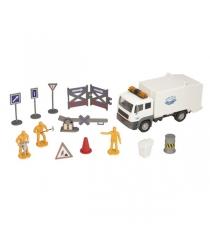 Roadsterz строительная команда с белым грузовиком white/ast1372500