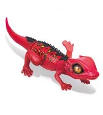 Интерактивная игрушка Robo Alive Робо ящерица красная Т10994