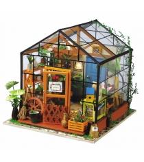 Миниатюрный конструктор цветочный домик 231 эле