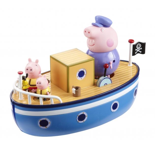 Игровой набор Морское приключение ТМ Свинка Пеппа без мелков Intertoy 15558