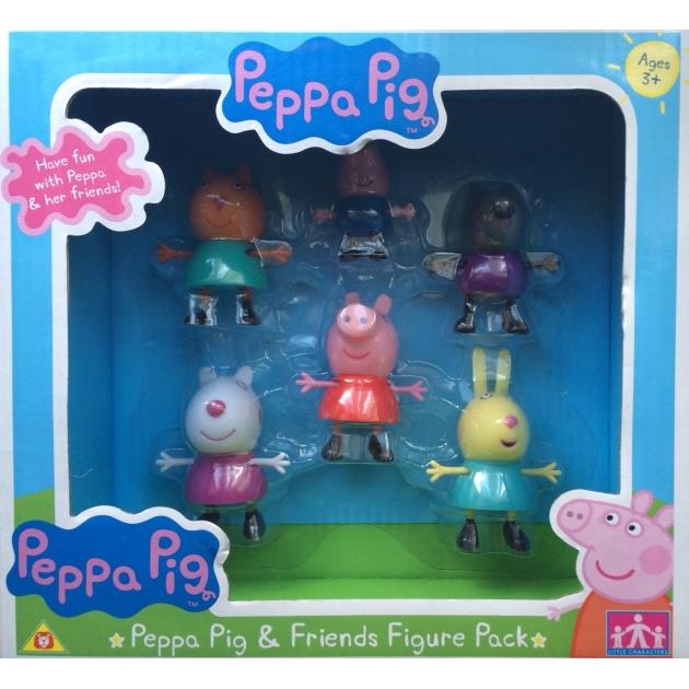 Игровой набор Пеппа и друзья Peppa Pig Intertoy 24312