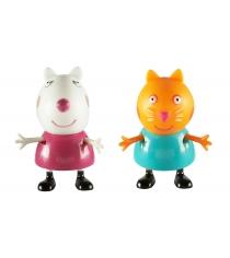 Игровой набор свинка пеппа сьюзи и кенди Росмэн 30762