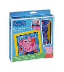 Набор для вышивания свинка пеппа модница Росмэн 31070