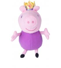 Мягкая игрушка свинка пеппа джордж принц 20 см Росмэн 31150