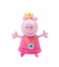 Мягкая игрушка свинка пеппа пеппа принцесса 20 см Росмэн 31151