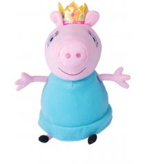 Мягкая игрушка свинка пеппа мама королева 30 см Росмэн 31153
