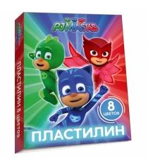 Пластилин герои в масках 8 цветов Росмэн 32765