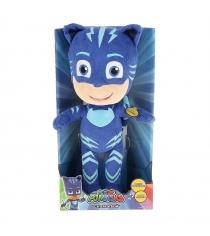 Мягкая игрушка герои в масках кэтбой звук свет 38 см Росмэн 33268