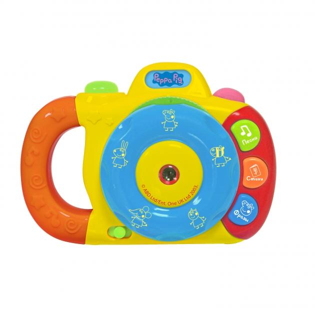 Музыкальный фотоаппарат с проектором Свинка Пеппа 1 Intertoy 35007